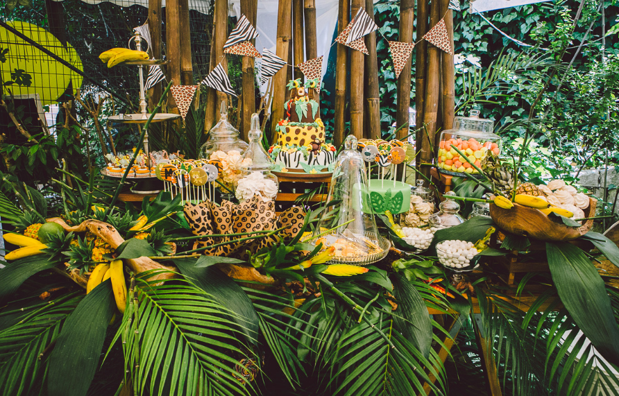 Nature Zoo Themed Birthday Party